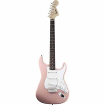 Guitarra Electrica Squier Affinity Stratocaster Shell Pink
