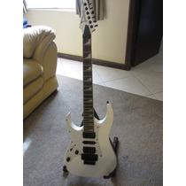 Guitarra Electrica Ibanez Zurda Rg Blanca Excelente Strato