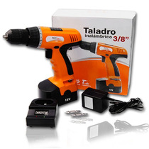 Taladro Inalambrico Tresoctavos Bateria Recarg Profesi Xaris