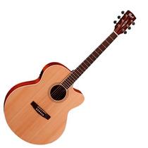 Cort - Guitarra Electroacústica Cj1f Natural Satin Cj1f Ns