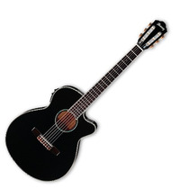 Guitarra Electroacústica Ibañez Aeg Negro Aeg10nii-bk