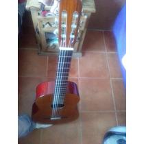 Guitarra Electroacustica De Palo Escrito Y Rosa De La India