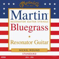 Cuerdas Martin M980 Bluegrass Guitarra Resonador Dobro Hm4