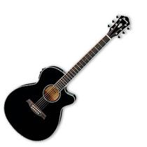 Guitarra Electroacústica Ibañez Aeg Negra Aeg10ii Bk