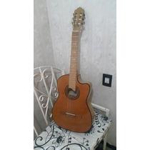 Guitarra Electroacustica Artesanal Paracho Michoacan Natural
