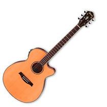 Guitarra Electroacústica Ibañez Aeg Natural Mate Aeg15ii Lg