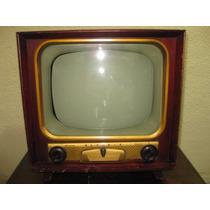 Antigua Television De Bulbos Olympic De Los 50s Sin Funciona