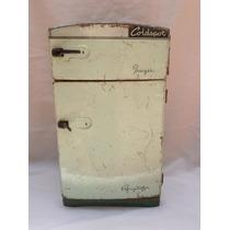 Refrigerador Vintage Casa Muñecas Antiguo