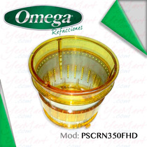 Refacción Omega Juicers Canastilla Para Vrt350 Amarilla