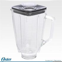 Vaso De Cristal / Vidrio Oster Original Con Tapa Au1