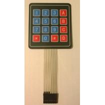 Teclado Matricial De Membrana 4x4 Para Pic, Avr, Arduino