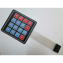 Teclado Matricial 4x4 Membrana - Para Pic Atmel Avr $50
