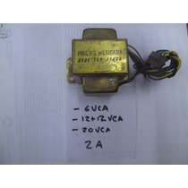 Transformador 6, 12+12 ,20vca, 2a