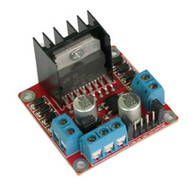 Puente H Doble L298n Control Motor Arduino, Pic, Avr