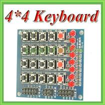 Fpga/arduino: Teclado 4x4 Con 8 Leds Y 4 Sw Eex