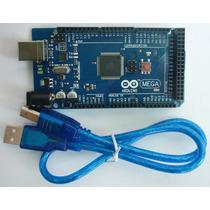 Arduino Mega + Cable Usb Atmega2560 Robot Avr Modulo