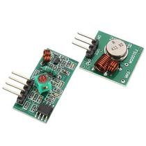 Par De Modulos Rf Transmisor Y Receptor 433 Mhz