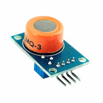 1 Pz Sensor Alcohol Etanol Mq-3 Mq 3 Arduino Pic Memoria