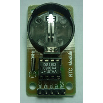 Módulo Ds1302 Reloj Tiempo Real Arduino Avr Pic Robot Atmega
