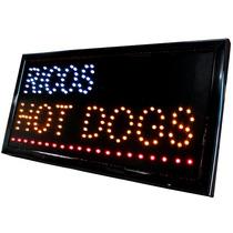 Anuncio Luminoso Led Hot Dogs