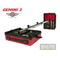 Detector De Metales Y Tesoros Gemini-3 6 Metros Profundidad