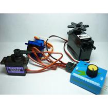 Servo Tester Probador De Servos Compatible Pic Arduino Robot