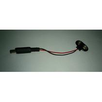 Conector De Pila Batería 9 V Cuadrada, Arduino, Pic, Avr