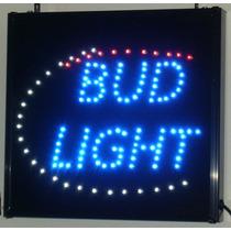 Anuncio Led De Colección Para Bar Bud Light Cerveza Bares