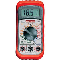 Multimetro Craftsman 34-82141 Digital Multimeter With 8