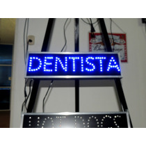 Anuncio Luminoso De Led Dentista /letrero Para Dentista Led