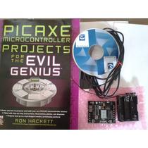 Curso Picaxe18m+ Kit De Aprendizaje, Tarjeta Original Picaxe