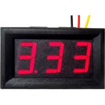 Volmetro Voltímetro Yb27 Tres Cables Arduino