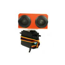 Kit De Escáner Ultrasonico Con Servomotor Pic Arduino
