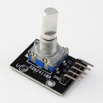 Encoder Rotatorio Arduino Pic Keyes Ky-040 Rotativo