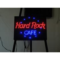 Anuncio Luminoso De Led De Colección Hard Rock Cafe