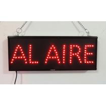Anuncio De Led Al Aire Para Cabinas De Radio, Tv...