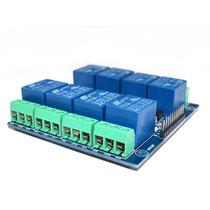 Tarjeta Interfaz De Potencia Con Relevadores 2x4ch Arduino,