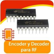 Encoder + Decoder, Ht12e + Ht12d Para Rf, Arduino, Pic