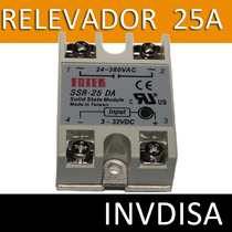 Relevador De Estado Solido 25a - 40a - 100a Salida 24/380v
