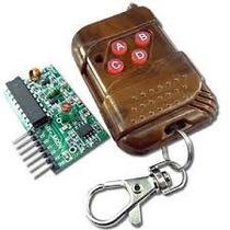 Control Remoto, Modulo De Rf Receptor Y Transmisor, Arduino