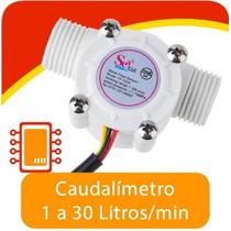 Sensor De Flujo De Líquidos. Caudalímetro 1-30 Litros/min