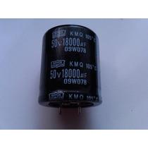 Capacitor Electrolítico 18000 Uf / 50vdc Factura.