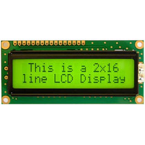 Display Pantalla Lcd 16x2 Con Backligth, Refactronica