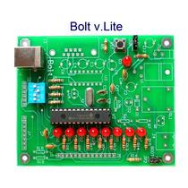 Tarjeta Desarrollo Microcontrolador Pic 18f2550 Puerto Usb.