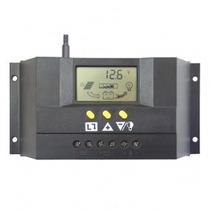 Controlador Panel Solar 12/24v 30a+ Lcd + Temporizador Prog.