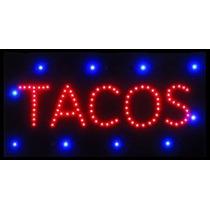 Anuncio Luminoso Led Tacos
