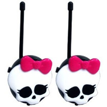 Monster High Walkie Talkies - Negro (15048)