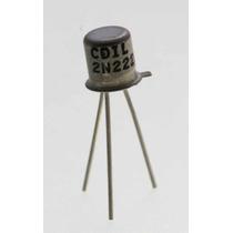 Kit 5 Transistores 2n2222a Npn 40v 0.8a
