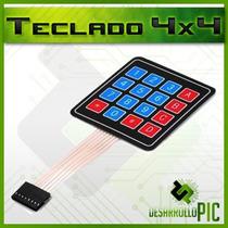 Teclado Matricial 4x4 Para Programador Pic Usb