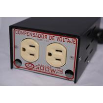 Compensador D Voltaje 100=120 Salida 1500w 120v 60hz